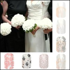 Getting married or in a wedding soon! Jamberry offers so many beautiful wraps to complement! www.elizabethinskeep.jamberrynails.net