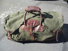Orvis Duffle. Just looks rugged. <3