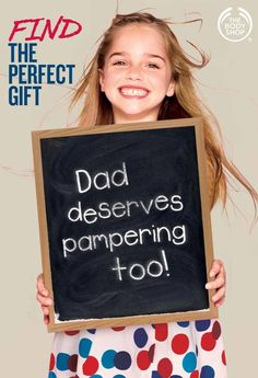"""""""With Father's Day fast approaching, we have made it easy for you. Come in & check out our great Father's Day gifts we have to offer for that special Dad this year"""" #Thebodyshop http://www.thebodyshop.com.au/"""