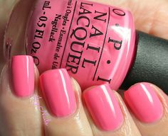 Icy Nails. OPI Kiss Me I'm Brazilian from the 2014 Spring Summer Brazil Collection