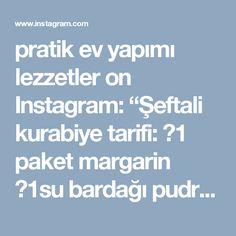 """pratik ev yapımı lezzetler on Instagram: """"Şeftali kurabiye tarifi: 👉1 paket margarin 👉1su bardağı pudra şekeri 👉1su bardağı nişasta 👉2,5-3 su bardağı un 👉1 yumurta 1 paket vanilya 👉…"""""""