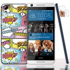Coque HTC Desire 626 Boum BadaBoum - Housse Silicone. #HTCDesire #626 #Badaboum