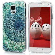 Samsung Galaxy S5 i9600 Funda de GEL TPU Silicona - YOKIRIN Carcasa Cover Anti-deslizante Case (Mandala Totem Flores) - http://www.tiendasmoviles.net/2016/02/samsung-galaxy-s5-i9600-funda-de-gel-tpu-silicona-yokirin-carcasa-cover-anti-deslizante-case-mandala-totem-flores/