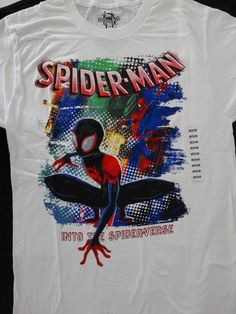 7f91d70dd42 The Amazing Spiderman Into The Spider-Verse Marvel Comics T-Shirt #Marvel #