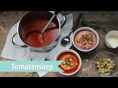 Tomatensoep - snel recept | Video - Brenda Kookt!
