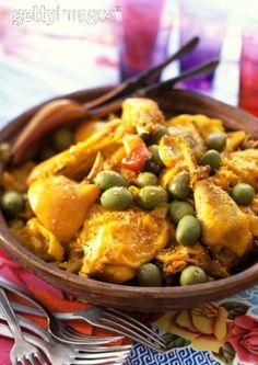 Tajine de poulet/Chicken tagine  (Morrocco)