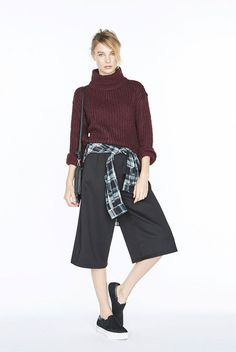 WAYS TO WEAR: THE CULOTTES. Day-to-night dressing just got a whole lot easier...