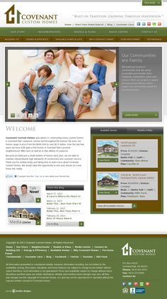 Covenant Custom Homes | Website Design Lees Summit, Custom Home Builders,  Custom Homes,