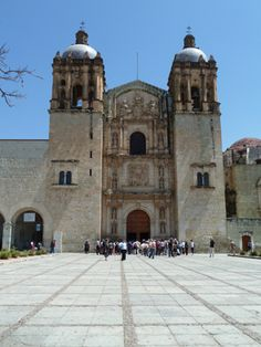 Santa Domingo is in the center of Oaxaca City and is stunning inside.