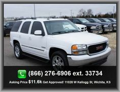 2005 GMC Yukon SLT SUV  500 Lbs., Independent Front Suspension Classification, Front Ventilated Disc Brakes, Premium Cloth Seat Upholstery, Compass, Door Reinforcement: