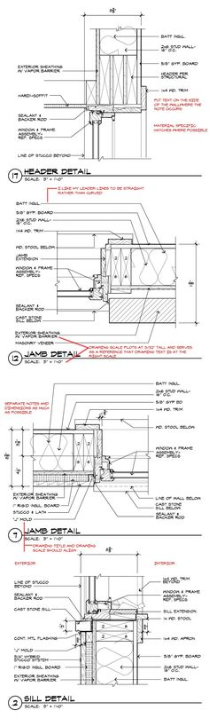 Architectural Drawing Board curtain wall details | architecture | pinterest | walls