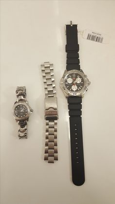 Tag Heuer watches at our branch in Debenhams, Portsmouth.