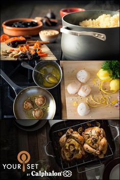My Calphalon cookware set is perfect for the way I love to cook, with select pieces from Calphalon's most premium lines: Unison Nonstick and AccuCore Stainless Steel. Mix it up. Make it yours. #yourset