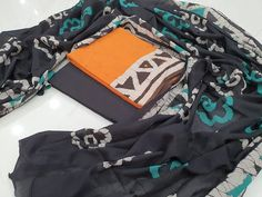 Cotton mulmul dupatta  Free shipping & COD  whatsapp 7413976951 Salwar Pants, Cotton Salwar Kameez, Suits For Sale, Suits For Women, Clothes For Women, Chinese Collar, Batik Prints, Cotton Suit, High Collar