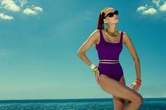 Bañador Colección para el Agua 2014  #purple #baño #AnaDuran #comodidad