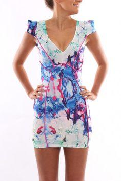 Living The Dream Grapefruit Dress - Womens