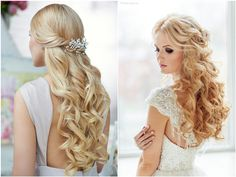 Top 20 Down Wedding Hairstyles for Long Hair | Deer Pearl Flowers