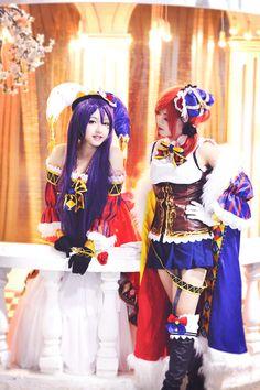 Nozomi Tojo - Oushiza Ous(Giha Ous) Nozomi Tojo, Maki Nishikino Cosplay Photo - Cure WorldCosplay
