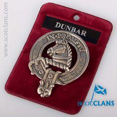Dunbar Clan Crest Pe