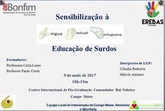 Campomaiornews: Sensibilização à Educação de Surdos no Centro Inte...