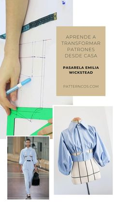 Skirt Patterns Sewing, Clothing Patterns, Look Fashion, Diy Fashion, Diy Clothes Design, Sewing Collars, Kleidung Design, Sewing Clothes Women, Corset Pattern