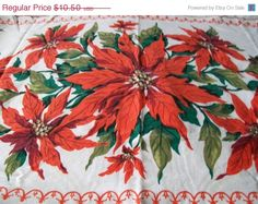 Etsy Christmas Sale Vintage Christmas Table by VintagePlusCrafts, $8.40