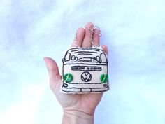 Hey, I found this really awesome Etsy listing at https://www.etsy.com/listing/165920682/hand-embroidered-vw-van-bus-christmas