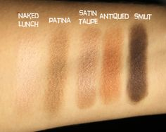 5 Mac Nice To Have Eyeshadow Swatches