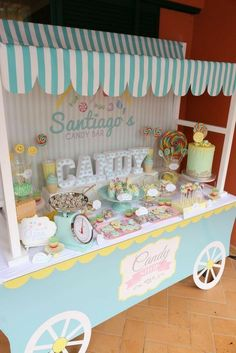 Discover recipes, home ideas, style inspiration and other ideas to try. Ice Cream Theme, Ice Cream Party, Candy Theme, Candy Party, Donut Party, Candy Shop, 2nd Birthday Parties, First Birthdays, Decoration