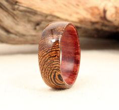 Pheasantwood Lined with Koa Wood Ring