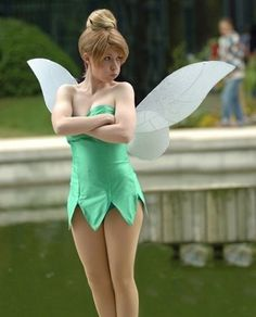 Tinkerbell- any excuse to wear something this short lol