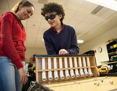 For the fun of it: Adapted games build social skills, literacy and more for players with blindness. Find out how students at Perkins School for the Blind play accessible games!