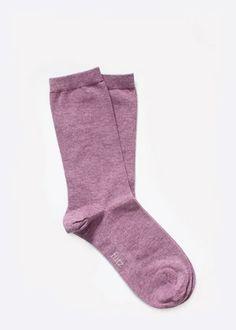 Essential / Women – fütz | Socks Simplified Magenta, Organic Cotton, Recycling, Fiber, Socks, Stylish, Women, Low Fiber Foods, Sock