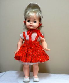 1983 Playmate Co. Blonde Haired Doll with by VictorianWardrobe, $12.00