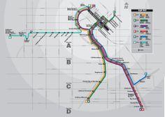 RTD Light Rail Map: RTD's light rail system consists of 5 lines: the C, D, E, F, and W line. The C and D line travel through Denver, Englewo...