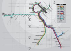 RTD Light Rail Map: RTD's light rail system consists of 5 lines: the C, D, E, F, and W line. The C and D line travel through Denver, Englewo...
