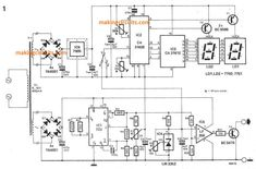 This explained digital temperature indicator circuit had been created for computing the heatsink temperature of a big over power amplifiers, however Electronics Basics, Electronics Projects, Electronic Schematics, Electronic Circuit, Circuit Diagram, Medical, Circuits, Education, Digital