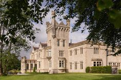 Book a trip to the idyllic shores of Lough Eske and enjoy a luxury stay in Lough Eske Castle with our Spring Getaway Package. Hotel Specials, Swimming Pools, Ireland, Castle, Exterior, Mansions, House Styles, Travel, Image