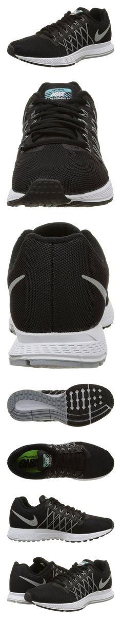 189.95 - Nike Women s Air Zoom Pegasus 32 Flash Black Rflct Slver Pr  Pltnm Cl Gr Running Shoe 6 Women US  shoes  nike  2015 a5e8d1018