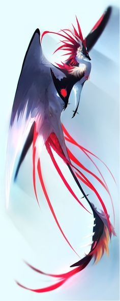 Deomora: shaman of dragons Cute Fantasy Creatures, Mythical Creatures Art, Mythological Creatures, Magical Creatures, Mythical Bird, Mythical Dragons, Fantasy Magic, Fantasy Dragon, Creature Concept Art