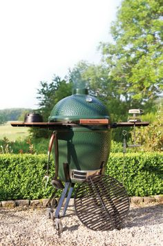 Harness the power of charcoal with the Big Green Egg.