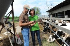 Minnesota Organic Dairy Farmer Emily Zweber #WomenInAg
