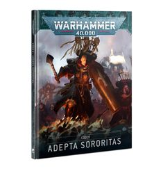 52-01 Warhammer 40K: Codex: Adepta Sororitas (HB) (English)