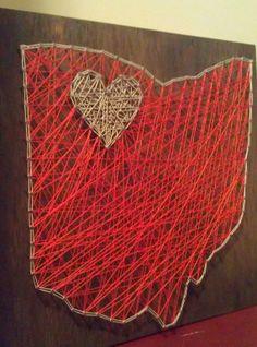 Falcon Love Bowling Green State University by Trash2Treasure83, $45.00