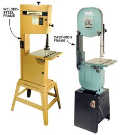 Daniel wants a Bandsaw - not sure of brand yet.