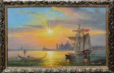 Венеция - Средиземноморье <- Картины маслом <- Картины - Каталог | Универсальный интернет-магазин подарков и сувениров