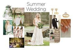 """""""rustic summer wedding"""" by theflappergirl on Polyvore featuring moda, Ultimate, Gap, Betsey Johnson, SPECIAL DAY, Annello, Vera Wang, ASOS e rustic"""
