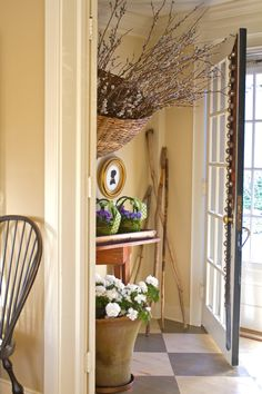 Nora Murphy Country House - Live What You Love, Love Where You Live = love sleigh bells! Country Interior, Country Decor, Country Style Homes, Cottage Style, French Farmhouse, Farmhouse Decor, New England Farmhouse, Decorating Small Spaces, Decorating Ideas