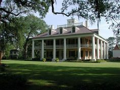 Image detail for -Myrtlewood Manor: Inspiration: Real-Life Southern Plantation Houses