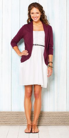 Summer Looks we love @Bootlegger.  I love this because it's so simple